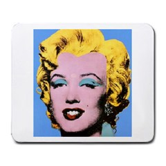 warhol Marilyn-Posters Large Mousepad by bonniebeautyplanet