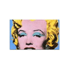 warhol Marilyn-Posters Sticker Rectangular (10 pack) by bonniebeautyplanet