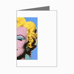 warhol Marilyn-Posters Mini Greeting Card by bonniebeautyplanet