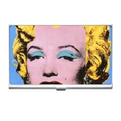 warhol Marilyn-Posters Business Card Holder by bonniebeautyplanet