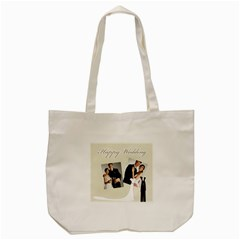 Wedding By Paula Green   Tote Bag (cream)   S27mi1ad1lvs   Www Artscow Com Front