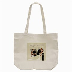 Wedding By Paula Green   Tote Bag (cream)   S27mi1ad1lvs   Www Artscow Com Back