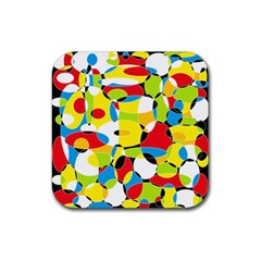 Interlocking Circles Drink Coaster (square) by StuffOrSomething