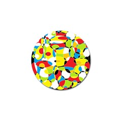 Interlocking Circles Golf Ball Marker 10 Pack by StuffOrSomething