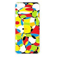 Interlocking Circles Apple Iphone 5 Seamless Case (white) by StuffOrSomething