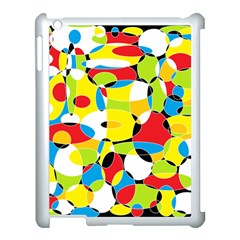 Interlocking Circles Apple Ipad 3/4 Case (white) by StuffOrSomething