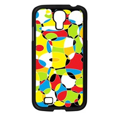 Interlocking Circles Samsung Galaxy S4 I9500/ I9505 Case (black) by StuffOrSomething
