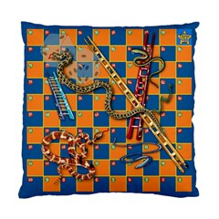 Snakes And Ladders Pillow Cushion Case (single Sided)  by Contest1869921