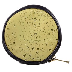 Yellow Water Droplets Mini Makeup Case