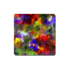 Deep Watercolors Magnet (square) by Colorfulart23