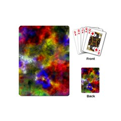 Deep Watercolors Playing Cards (Mini)