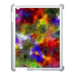 Deep Watercolors Apple Ipad 3/4 Case (white) by Colorfulart23