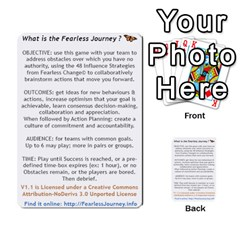Fearless Journey Strategy Cards V1 1nl By Deborah   Multi Purpose Cards (rectangle)   I0dwaz1h14do   Www Artscow Com Front 52