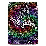 Urock Musicians Twisted Rainbow Notes  Removable Flap Cover (Small)