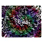 Urock Musicians Twisted Rainbow Notes  8  x 10  Desktop Photo Plaque