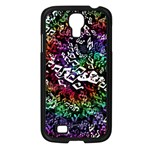 Urock Musicians Twisted Rainbow Notes  Samsung Galaxy S4 I9500/ I9505 Case (Black)