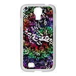 Urock Musicians Twisted Rainbow Notes  Samsung GALAXY S4 I9500/ I9505 Case (White)