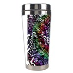 Urock Musicians Twisted Rainbow Notes  Stainless Steel Travel Tumbler