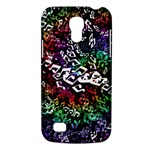 Urock Musicians Twisted Rainbow Notes  Samsung Galaxy S4 Mini (GT-I9190) Hardshell Case
