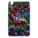 Urock Musicians Twisted Rainbow Notes  Samsung Galaxy Tab 3 (8 ) T3100 Hardshell Case