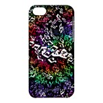 Urock Musicians Twisted Rainbow Notes  Apple iPhone 5C Hardshell Case