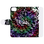 Urock Musicians Twisted Rainbow Notes  Apple iPhone 5C Leather Folio Case