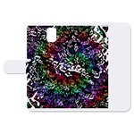 Urock Musicians Twisted Rainbow Notes  Samsung Galaxy Note 3 Leather Folio Case