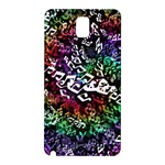 Urock Musicians Twisted Rainbow Notes  Samsung Galaxy Note 3 Hardshell Back Case