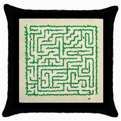 A-maze... Black Throw Pillow Case by Contest1729022