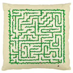 A-maze... Large Cushion Case (Two Sided)  by Contest1729022