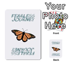 Fearless Journey Strategy Cards V1 2fr By Deborah   Multi Purpose Cards (rectangle)   Fgwq8t730ei8   Www Artscow Com Back 1