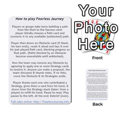 Fearless Journey Strategy Cards V1 2fr By Deborah   Multi Purpose Cards (rectangle)   Fgwq8t730ei8   Www Artscow Com Front 51