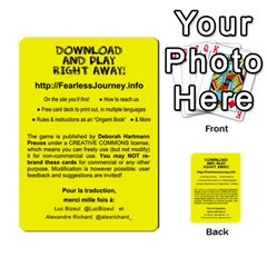 Fearless Journey Strategy Cards V1 2fr By Deborah   Multi Purpose Cards (rectangle)   Fgwq8t730ei8   Www Artscow Com Front 53