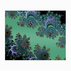 Celtic Symbolic Fractal Glasses Cloth (small) by UROCKtheWorldDesign