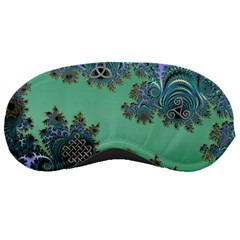 Celtic Symbolic Fractal Sleeping Mask by UROCKtheWorldDesign