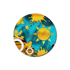 Musical Peace Drink Coaster (round) by StuffOrSomething