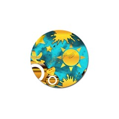 Musical Peace Golf Ball Marker 10 Pack