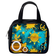 Musical Peace Classic Handbag (one Side) by StuffOrSomething