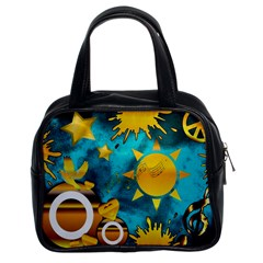 Musical Peace Classic Handbag (two Sides)