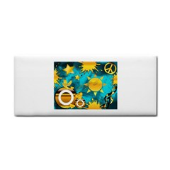 Musical Peace Hand Towel by StuffOrSomething