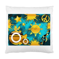 Musical Peace Cushion Case (single Sided)  by StuffOrSomething