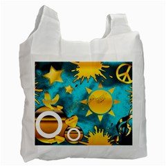 Musical Peace Recycle Bag (two Sides) by StuffOrSomething