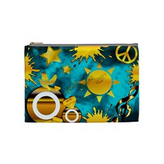 Musical Peace Cosmetic Bag (medium) by StuffOrSomething
