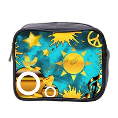 Musical Peace Mini Travel Toiletry Bag (two Sides) by StuffOrSomething