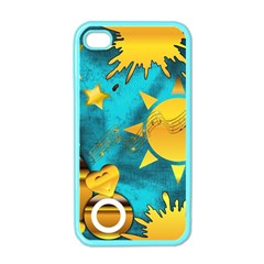 Musical Peace Apple Iphone 4 Case (color) by StuffOrSomething