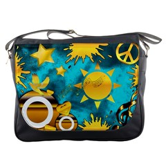 Musical Peace Messenger Bag by StuffOrSomething
