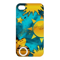 Musical Peace Apple Iphone 4/4s Premium Hardshell Case by StuffOrSomething