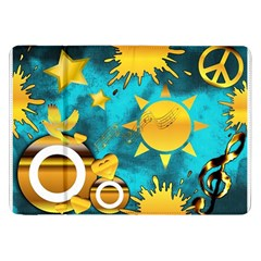 Musical Peace Samsung Galaxy Tab 8 9  P7300 Flip Case by StuffOrSomething