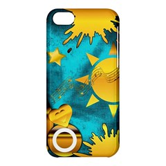 Musical Peace Apple Iphone 5c Hardshell Case by StuffOrSomething