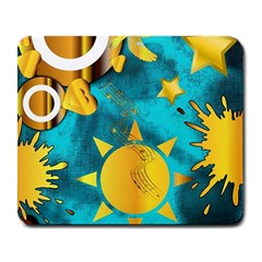 Musical Peace  Large Mouse Pad (rectangle) by StuffOrSomething